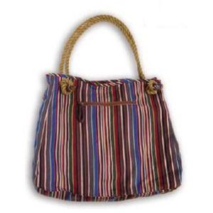 Hat Attack Multi-Stripe Tote Bag