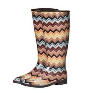 ⬇ Missoni for Target Rain Boots