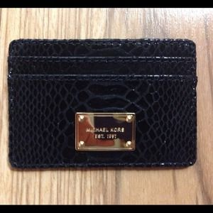 Michael Kors Clutches & Wallets - New! Michael Kors card case