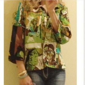 Mirror Image Jackets & Blazers - 💐Host Pick 💐Picasso printblazer /jacket size M