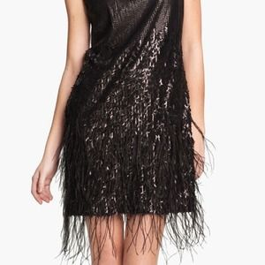 Jessica Simpson Dresses - Sold in Bundle.  feather sequined dress