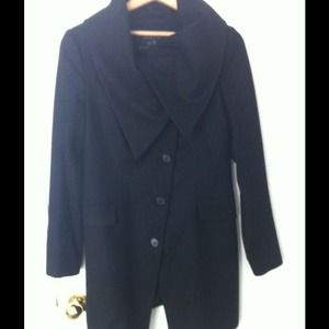 All Saints Dark Grey Wool Jacket
