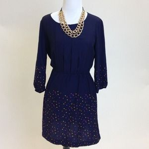 Dresses & Skirts - Blue multicolored dress
