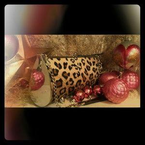 Handbags - Road Flair Leopard Swavarski Crystals