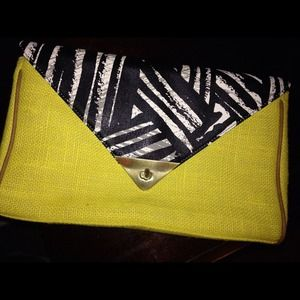 Lime Green Clutch Target Brand