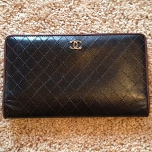 Authentic Black Chanel Wallet