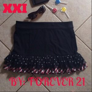 Forever 21 Dresses & Skirts - SOLD Black XXI Skirt  Here' a Little Eye Candy !!!