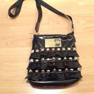 Betsey Johnson crossbody.