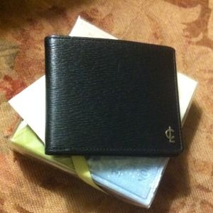 Double Billfold Slim Coach Wallet NWOT