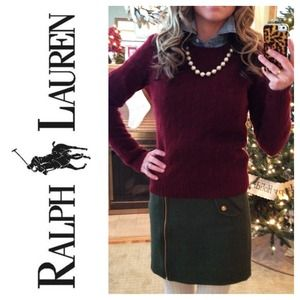 Ralph Lauren Sweaters - Slim-Fit Cable Cashmere Sweater