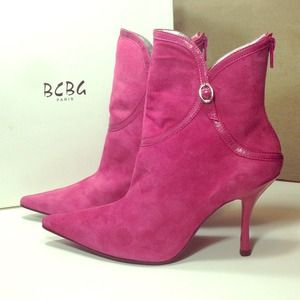 BCBG Debby-S pink boots