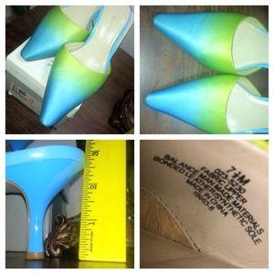 Worthington Shoes - Worthington Millie Blue/Green 2 1/2 inches