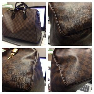 🐸SOLD🐸 Authentic damier speedy 30