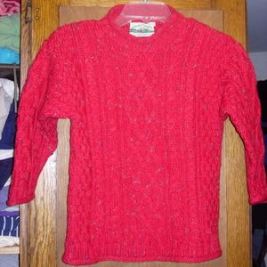 💖💖SOLD💖💖Aran Crafts Ireland New Wool Sweater