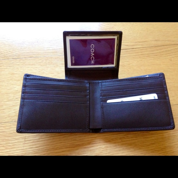 Leather Wallet For Men With Price Mens Coach Leather Wallets