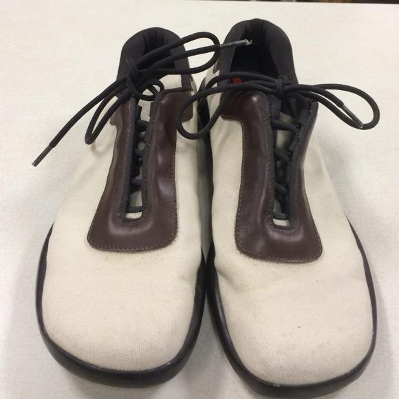 Prada Shoes | Mens Canvas | Poshmark