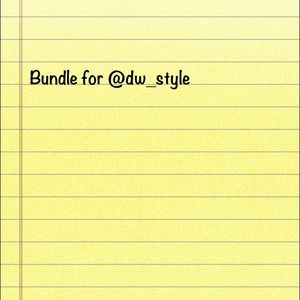 Other - Bundle for @dw_style