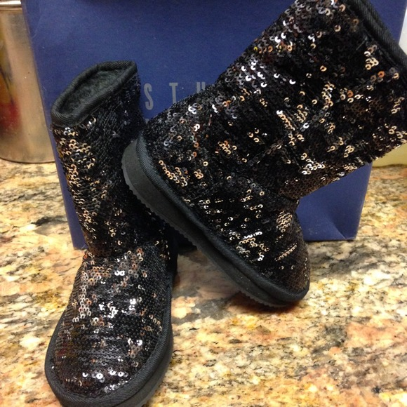 cost charm quality products cheap for sale Stuart Weitzman Shoes | Toddler Girls Sequin Boots | Poshmark
