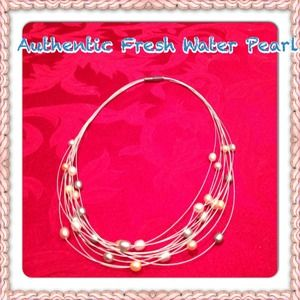 👛 Jewelry - Honora Genuine freshwater pearl necklace.