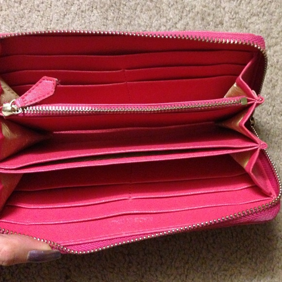 Prada Milano Wallet Prada Milano Hot Pink Wallet