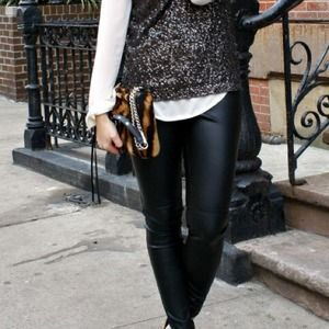 H&M Pants - Faux leather pants