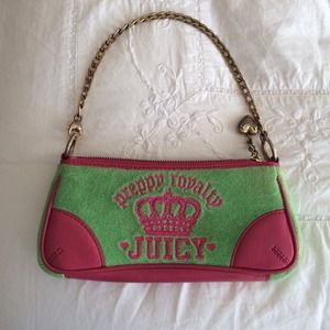  Juicy Couture Terry Small Clutch 