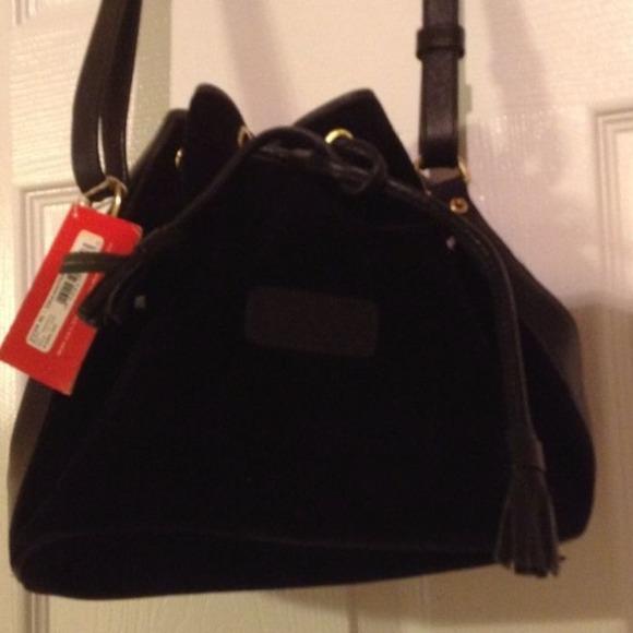 Black Velvet Handbag | Luggage And Suitcases