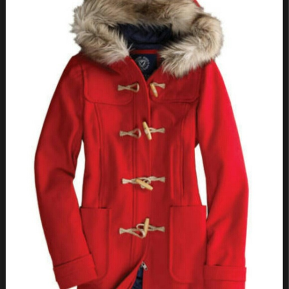 62% off American Eagle Outfitters Outerwear - American Eagle Red ...