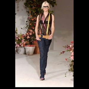 Dolce & Gabbana Floral Applique Jeans 42IT