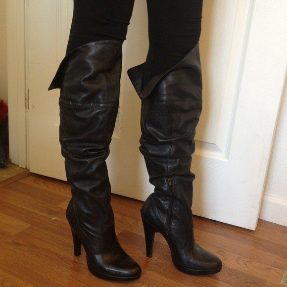 27ccce5ffe7 Jessica Simpson Tall Black Leather Boots