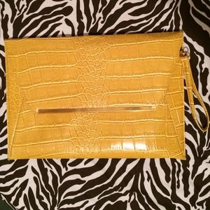 Asos oversized envelope clutch.
