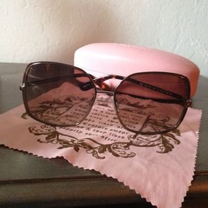 🎀💕Juicy couture Sunglasses 💕🎀😎