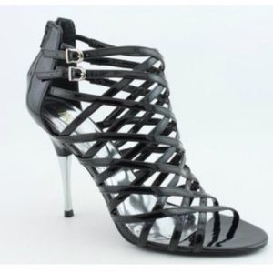 🎉HOST PICK🎉🔥HOT🔥INC Black Strappy High Heels