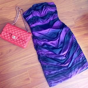 Brand new Very Unique Betsey Johnson purple dress