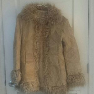Outerwear - Vintage Faux Fur Coat