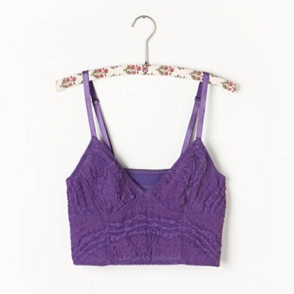 cec2db8722 NWT Free People lace bralette crop top