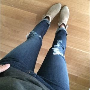 J Brand Denim - J Brand destroyed denim