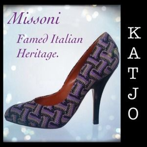 Missoni Shoes - Missoni Platform Pumps.