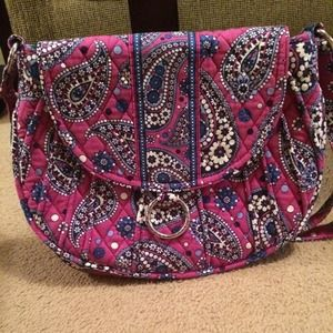 Vera Bradley saddle up bag