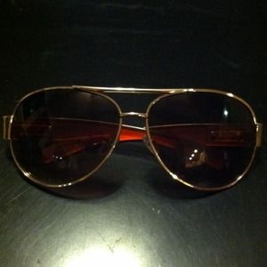 Accessories - Gold Aviators