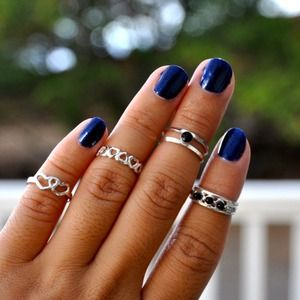 Jewelry - Set of Knuckle Rings