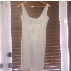 Winter White Short Coaktail Dress!