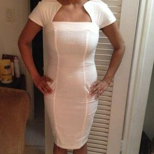 Cream colored Asos dress