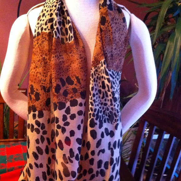 9414d74e Accessories | Sold In Vinted Animal Print Scarf | Poshmark