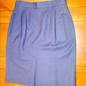 Navy Pencil Skirt size 4
