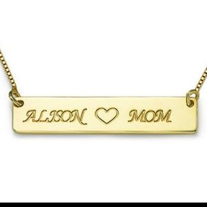 Jewelry - 2 Name, Nameplate Necklace