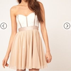 Asos Lace Bustier Dress *NEW*