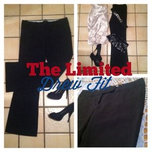 Limited black trousers