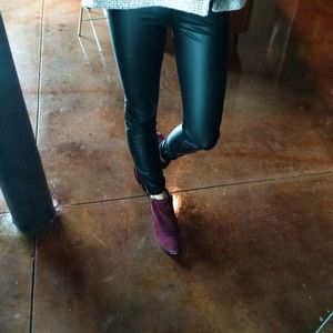 INC Pants - INC faux leather leggings