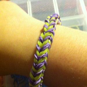 Jewelry - Double fish tail loom bracelet
